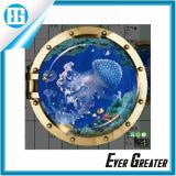 Impermeable de vinilo PE decoración de la familia de espuma 3D Wall Sticker