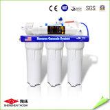 Portable 10 polegadas sob o purificador da água do estágio do dobro do dissipador