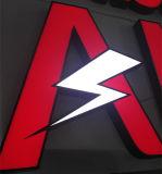 Commercio della parte anteriore del negozio della memoria di marca che fa pubblicità alla lettera acrilica della Manica del LED