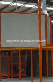 Ligne d'enduit de poudre de modèle de fabrication pour la porte