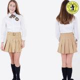 Uniforme scolastico pieghettato classico del pannello esterno del vestito dalla ragazza per estate