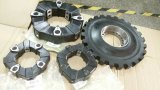 Accoppiamento di gomma flessibile industriale di Nuovo-Sviluppo dei pezzi di ricambio dei compressori d'aria