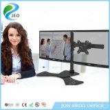 Double étalage d'écran de Jeo émerillon 15 de 180 degrés '' - 27 '' canalisation verticale réglable de moniteur de bride de bureau de la hauteur Ys-MP320SL de pouce