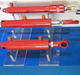 Fabrik, die doppelten verantwortlichen teleskopischen Hydrozylinder herstellt