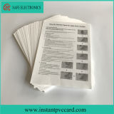 Papier de transfert thermique de Faberic de lumière de taille du prix bas A4