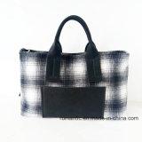 도매 디자이너 유행 여자 화포 핸드백 (P-1012)