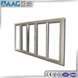 Doppio portello scorrevole di alluminio di vetro economizzatore d'energia