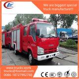 Caminhões de bombeiros de espuma de água Isuzu de 600p para venda