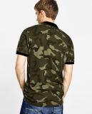 Chemise de polo du camouflage des hommes faits sur commande