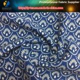 Polyester Stretch Fabric Printing Flor tropical para camisa / calças (YH2131)