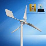 600W fora do sistema de gerador de vento de grade 24V com controlador e inversor