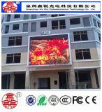 Visualización a todo color de la publicidad de pantalla del módulo del RGB LED de la INMERSIÓN al aire libre P10