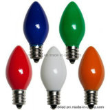 옥외 나무 LED 당 또는 크리스마스 불빛 C7C9가 LED 끈에 의하여 점화한다