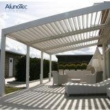 알루미늄 조정가능한 미늘창 지붕 생물 기후 Pergola