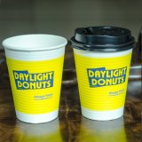 Papiercup der Farben-Druckpapier-Cup-doppel-wandige Qualitäts-12oz