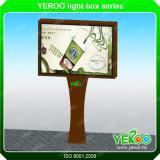 Tabellone per le affissioni della visualizzazione di pubblicità esterna Backlit facendo scorrere tabellone per le affissioni