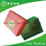 Rectángulo de papel de empaquetado cosmético de encargo del rectángulo