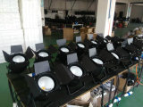 Interior 200W COB LED PAR luz con Baffle boda DJ LED luz suave de lavado