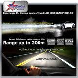 9004 faro di H4 Xhp50 LED per il kit massimo minimo del faro dell'automobile H13 del fascio 9007 del motociclo automatico con Fanless Premium