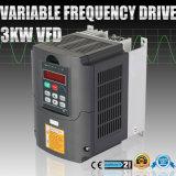 inverseur variable VFD d'entraînement de fréquence de 4HP 3kw