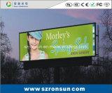 P8 que hace publicidad de la pantalla de visualización al aire libre a todo color de LED de la cartelera