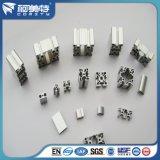 Perfil de aluminio anodizado industrial de la protuberancia para la cadena de producción taller de la asamblea