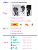 Отбеленная середина/Free/3-Part завязывает волос бразильского шнурка закрытия верхней части шнурка волос девственницы швейцарского Unprocessed прямые грузя свободно Lbh 256