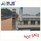 Basamento di energia idroelettrica di prezzi bassi e colonna di ormeggio di distribuzione d'energia/porticciolo di plastica