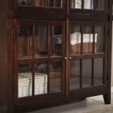 [غنغدونغ] خشب ينحت [بووككس] مع باب زجاجيّة ([غسب18-019])