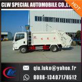 Yuejin 5cbm 8cbm 10cbm Compactador de lixo