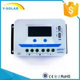 Contrôleur solaire de charge d'Epsolar 45A 12V/24V/36V/48V pour le panneau solaire Vs4548au