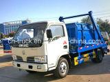 Camion d'ordures de bras de bain de Dongfeng 4cbm 4ton