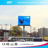 Visualizzazione di LED esterna di alta risoluzione P8 che fa pubblicità allo schermo con il modulo di 256X256mm