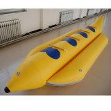 Высокая скорость надувной банан на моторной лодке