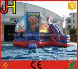 Castello rimbalzante di tema gonfiabile dello Spiderman di alta qualità da vendere