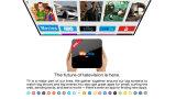 2017 le meilleur PRO S912 Kodi Octa cadre 17.0 intelligent du faisceau 4k 2g 16g TV de Wechip H96