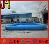 Piscina inflable popular parque de agua en verano