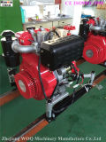 Motor diesel bomba de agua bomba centrífuga de la bomba contra incendios