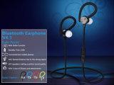 Auriculares estereofónicos sem fio do esporte de Bluetooth da forma colorida mini