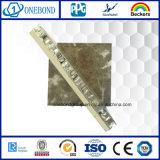 Panneau de pierre Honeycomb en aluminium pour revêtement mural