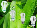 Luz del ahorro de la energía del loto 3000h/6000h/8000h 2700K-7500K del bulbo de lámpara del LED 105W