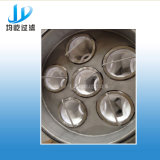 Filtro de bola de fibra reversa mecânica de alta eficiência para remoção de gordura / óleo