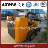 Ltmaのローダー機械0.7トンの新しいスキッドの雄牛のローダーの価格