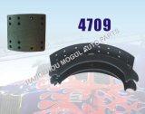 Langer Lebenszeit-Bremsbelag für Hochleistungs-LKW (4709)
