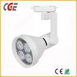 Las lámparas LED para Tienda de ropa de focos de iluminación decorativa PAR30 9W/12W/15W/18W/21W de las luces de pista LED