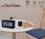 Sensor de luz nocturna recarregável relógio LED digital com carregador USB
