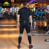 Mens che cicla Legging con usura maschio di forma fisica del vestito di ginnastica del rilievo