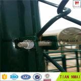 녹색 PVC는 직업적인 제조자에서 제작된 체인 연결 담을 입혔다
