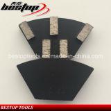 Metal Bond Cassani Bloque de pulido de diamante para hormigón / granito / mármol
