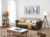 Microfiberの花のスエードのパキスタンのための折るソファーベッド